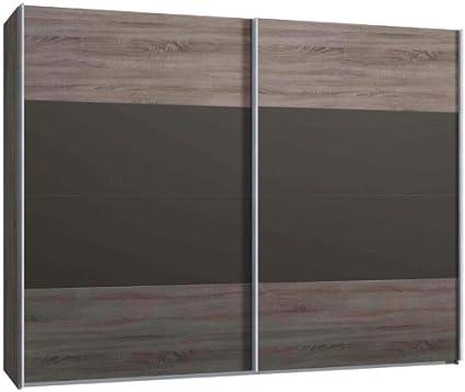 Armario de puertas correderas, armario, aprox 300 cm, madera de ...