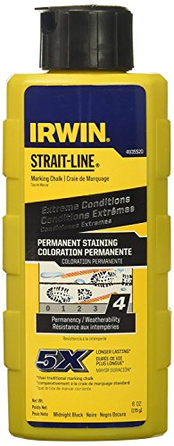 (Straight Line Straight Line Chalk Black 8 Oz)
