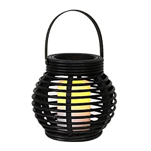 012W Artistic Yellow LED Solar Garden Light in Candle Feature £¨TYN)