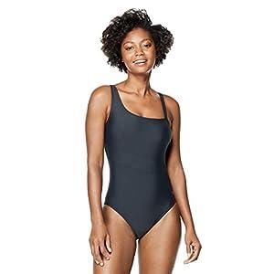 Speedo Women's Swimsuit One Piece Asymmetrical Contemporary Cut