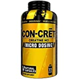 ConCret, 72 Capsules, Micro-Dosing Creatine