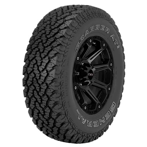 P215/75R15 General Grabber AT2 100S B/4 Ply OWL Tire