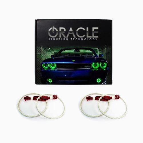 Oracle Lighting NI-GT0911-G - Nissan GT-R LED Halo Headlight Rings - Green