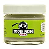 Uncle Harry's Fluoride Free Toothpaste - Anise (3 oz glass jar) ... (2)