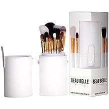 Beau Belle Makeup Brushes - Makeup Brush Set - Makeup Brush Holder - Makeup Brushes Set - Makeup Brushes Holder - Professional Makeup Brushes - Make Up Brushes Set - Makeup Brush Kit