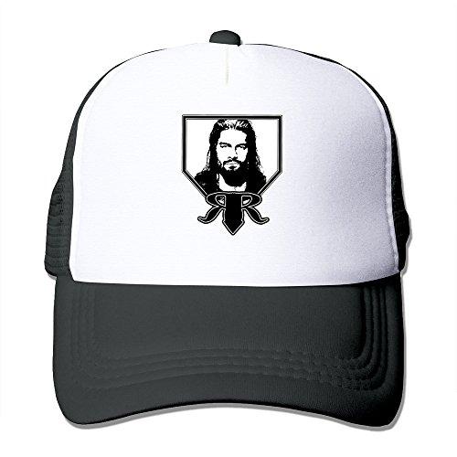 AGOGO Custome Roman Reigns Snapback Hats Black