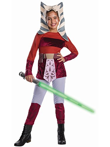 Rubie's Star Wars Clone Wars Child's Ahsoka Tano Costume, Large