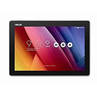 ASUS ZenPad 10.1, 2GB RAM, 16GB eMMC, 2MP Front / 5MP Rear Camera, Android 6.0, Tablet, Dark Gray (Z300M-A2-GR)
