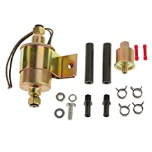 12V Universal Low Pressure Electric Fuel Pump With Installation Kit