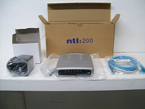 NTL 200 European Cable Modem Model # 08004EU w/Power Adapter & Leads by Ambit (Image #3)
