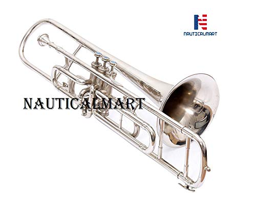 Valve Trombone Nickel Plated Bb