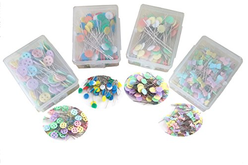 HONEYSEW 100PCS Of Quilting/Patchwork Pins 4 Styles For Choose (PIN(A+B+C+D)) by HONEYSEW