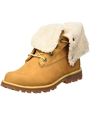 Youths 6-Inch Shearling Leather Boots