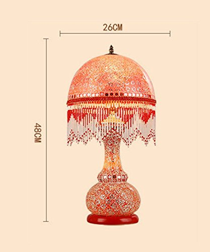 HH European Style Table Lamp Bedroom Bedside Creative Luxury Lighting by FJB (Image #2)