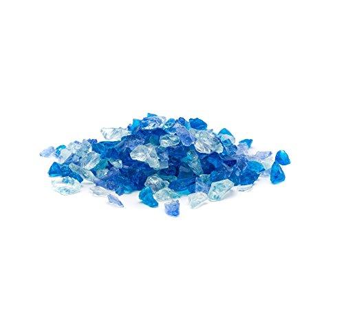 Dragon Glass 25 lb. Bahama Blend Landscape Glass ()