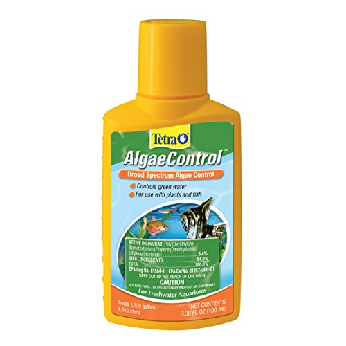 Tetra AlgaeControl Water Treatments, 3.38-Fluid (Algae Fish)