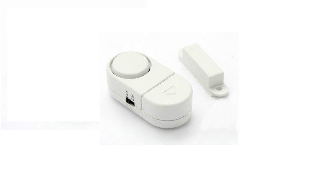 Alarma sensor detector acustico para puertas y ventanas ladrones robos oficina casa hogar: Amazon.es: Industria, empresas y ciencia