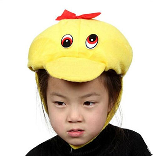 Goodscene Party decoration accessories Cute Kids Performance Accessories Cartoon Animal Hat (Duck) by Goodscene