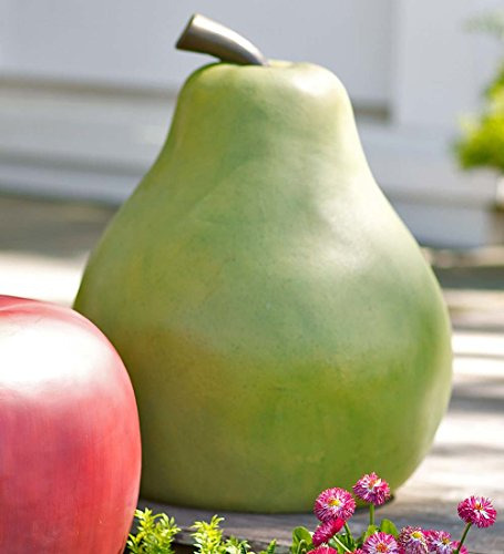 Oversize Fruit Garden Art, in Pear