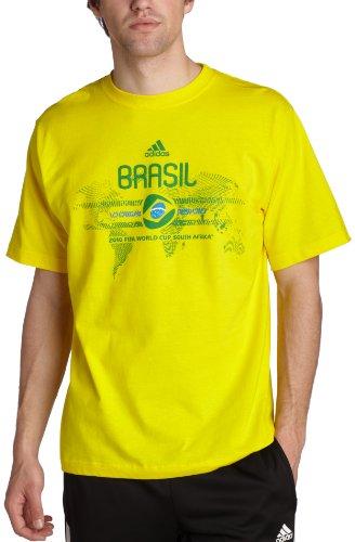 Brazil Country T-Shirt, Sun/Brazil, Large
