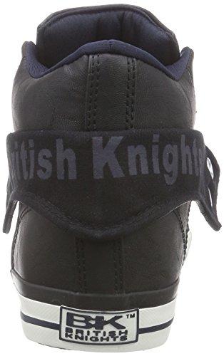 Scarpe Roco British da Alte Blu black Uomo 27 Ginnastica da Navy Knights qtS5SO