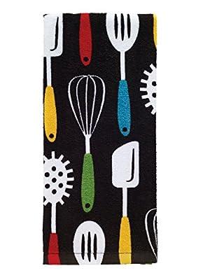 T-fal Textiles Fiber Reactive Artichoke Print Kitchen Dish Towel