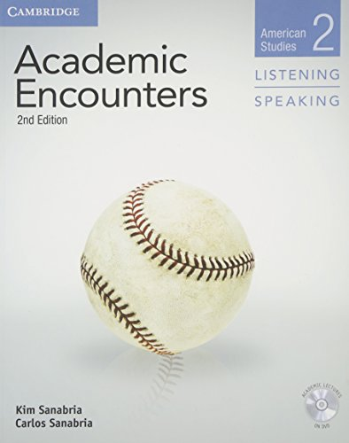 Academic Encounters Level 2 Student's Book Listening and Speaking with DVD: American Studies (American Studies, Level 2)