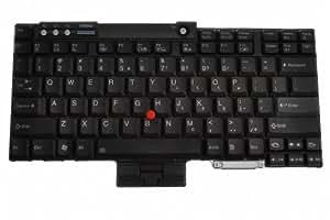 """Keyboard, English (US) 42T3234 for IBM ThinkPad R400, R500, R60, R60e, R61, R61e, R61i, T400, T500, T60, T60p, T61 14,1"""", T61 15,4"""", T61p / Thinkpad W500 / ThinkPad W700, W700ds, W701, W701ds, Z61e, Z61m, Z61p, Z61t; Lenovo ThinkPad R400, R500, R60, R60e, R61, R61e, R61i, T400, T60, T60p, T61 14,1"""", T61 15,4"""", T61p, W500, W700, W700ds, W701, Z61e, Z61m, Z61p, Z61t"""