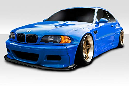 Duraflex Replacement for 2001-2006 BMW M3 E46 Circuit Wide Body Kit - 6 Piece ()