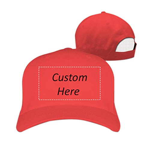 FENGDA Customize Your Own Design Text Photos Logo Personalized Hat Hiphop Hat Baseball Cap