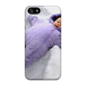 Cute High Quality Iphone 5/5s Funny Baby Case by icecream design