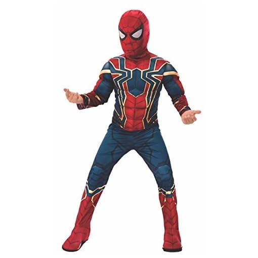 Rubies Marvel Avengers Infinity War Deluxe Iron Spider Childs Costume Medium