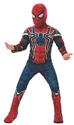 Rubie's Marvel Avengers: Infinity War Deluxe Iron Spider Child's Costume, Medium ()