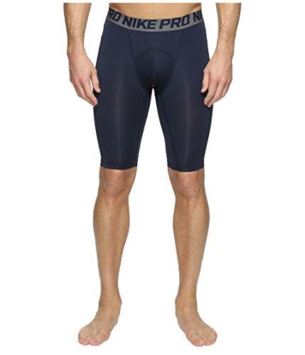 Nike Mens Pro Cool Compression 9 Shorts Obsidian Blue/Dark Grey/White 703086-451 Size Large