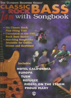 (Classic Rock Bass Jam With Songbook The Ultimate Beginner Series NO CD Sold AS - IS Book Only)