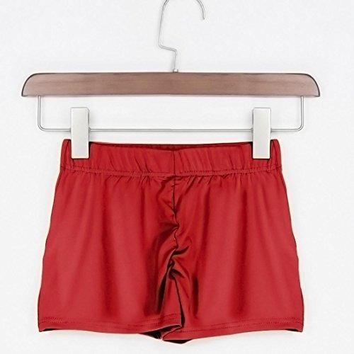 Yoga Fitness dcontracts Mode Short t Plage Sport Casual Mamum Shorts Short Short Caf de L rouge Elastique Unique Taille Femme Multicolore OYCwxAqX