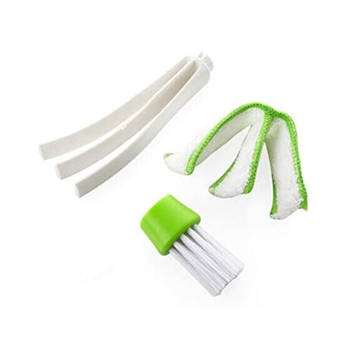 Well Wreapped 2 In 1 Multipurpose Cleaning Brush Window Blind Cleaner Mini Blind Duster Keyboard