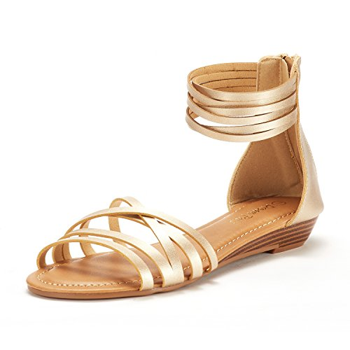 05 Gold Women Sandal - 2