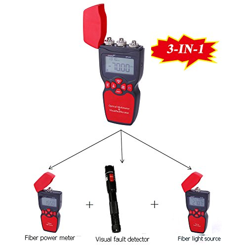 Noyafa NF-911-A NF-911 3-in-1 Handheld Optical Multimeter Power Meter + Light Source