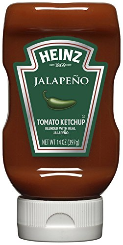 Heinz Tomato Ketchup, Jalapeno, 14 Ounce (Pack of - Dogs For Toppings Hot Good