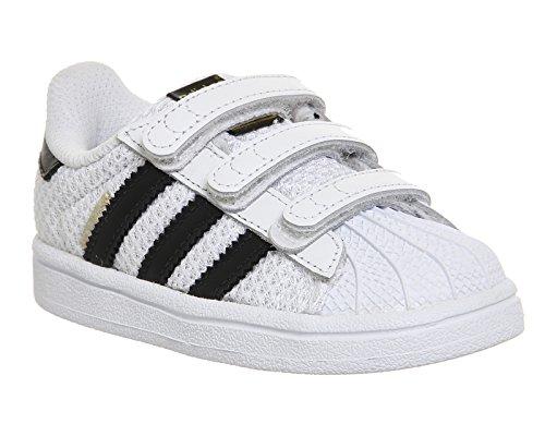 adidas Originals Superstar CF I Sneaker weiß schwarz Weiß/Schwarz