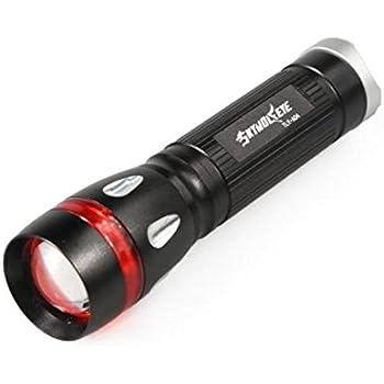 New Zoomable 3000 Lumen  XML T6 LED 3 Modes Focus 18650 Gold Lamp Flashlight