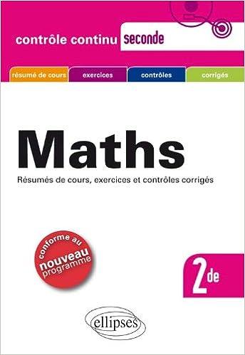 En ligne téléchargement Maths Seconde Programme 2010 pdf, epub