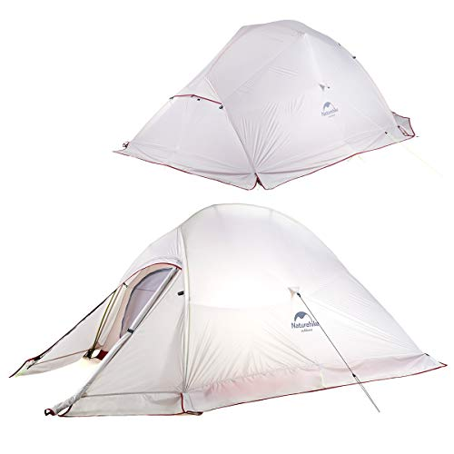 Naturehike Upgrade 2 Person Self Standing Tent Ultralite 20D Silicon Tent Double Layer Tent Ultralight Backpacking Tent…