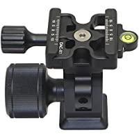 Desmond DMH-2 & 50mm DAC-X1 Clamp Tripod Tilt Head Arca /RRS Compatible Oversized Knob