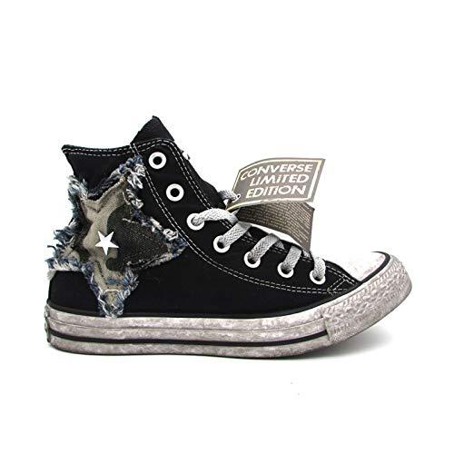 Nero Hi Bianco Vintage Ctas Nero 42 Canvas Converse Sneakers Ltd 162894c qZOX5xHw