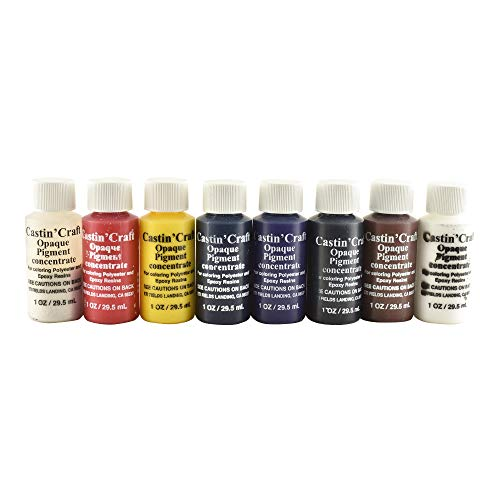 Castin' Craft 1 Oz Opaque Dye Set of 8