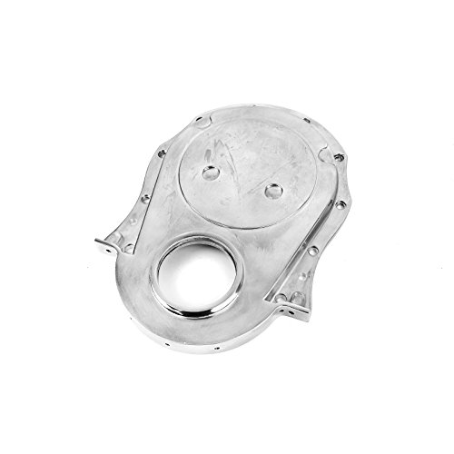 (Procomp Electronics PCE265.1017 Chevy BBC 454 Gen 1-4 Aluminum Timing Chain Cover Polished 1-Piece)