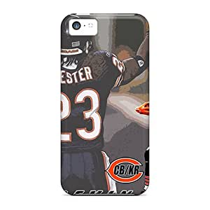 Durable Protector Case Cover With Chicago Bears Hot Design For Iphone 5c