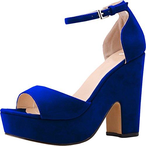Salabobo - Zapatillas de danza para mujer Azul azul z8k4GL